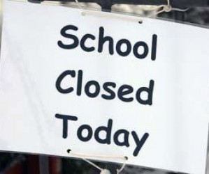 School is closed today